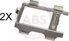 A.B.S. 1793Q - Piederumu komplekts, Disku bremžu uzlikas interparts.lv