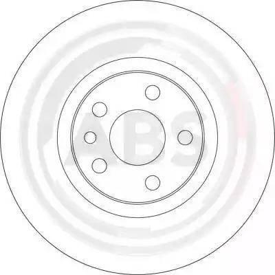 A.B.S. 17406 - Bremžu diski interparts.lv