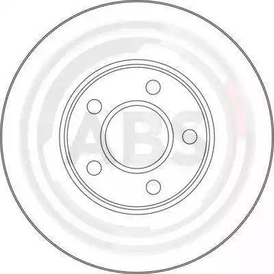 A.B.S. 17416 - Bremžu diski interparts.lv