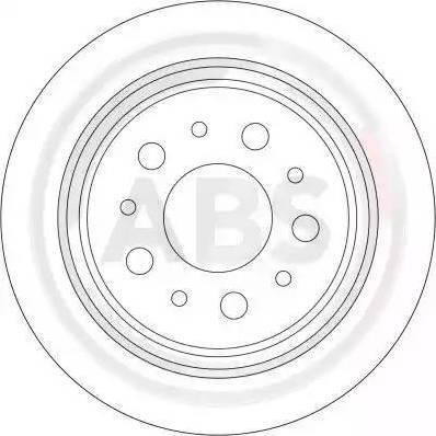 A.B.S. 17410 - Bremžu diski interparts.lv