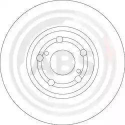 A.B.S. 17511 - Bremžu diski interparts.lv