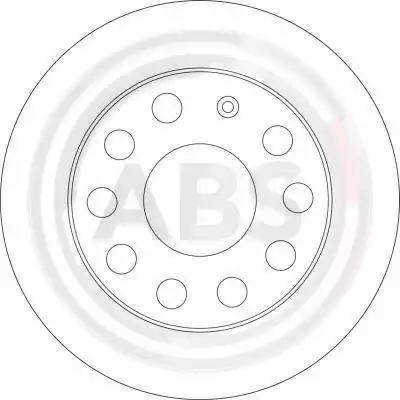 A.B.S. 17520 - Bremžu diski interparts.lv