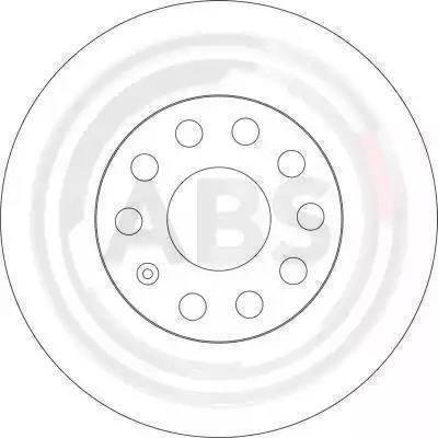 A.B.S. 17521 - Bremžu diski interparts.lv