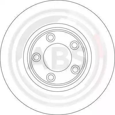 A.B.S. 17049 - Bremžu diski interparts.lv