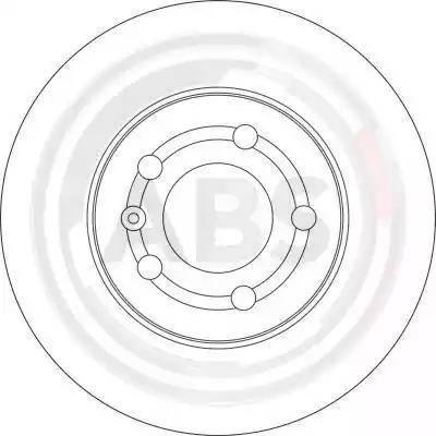 A.B.S. 17059 - Bremžu diski interparts.lv
