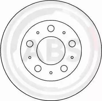 A.B.S. 17055 - Bremžu diski interparts.lv