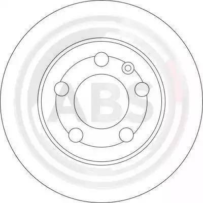 A.B.S. 17009 - Bremžu diski interparts.lv