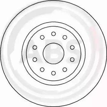 A.B.S. 17014 - Bremžu diski interparts.lv