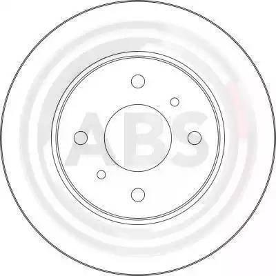 A.B.S. 17010 - Bremžu diski interparts.lv