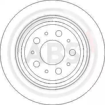 A.B.S. 17013 - Bremžu diski interparts.lv