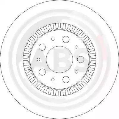 A.B.S. 17012 - Bremžu diski interparts.lv