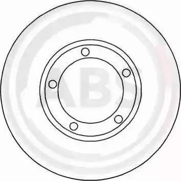 A.B.S. 17035 - Bremžu diski interparts.lv