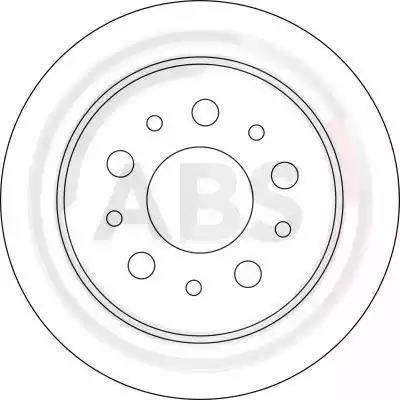 A.B.S. 17030 - Bremžu diski interparts.lv