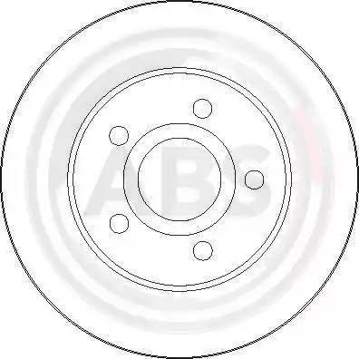 A.B.S. 17032 - Bremžu diski interparts.lv