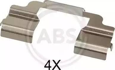 A.B.S. 1703Q - Piederumu komplekts, Disku bremžu uzlikas interparts.lv