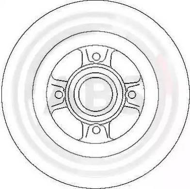 A.B.S. 17029 - Bremžu diski interparts.lv