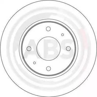 A.B.S. 17022 - Bremžu diski interparts.lv