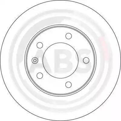 A.B.S. 17159 - Bremžu diski interparts.lv