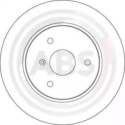 A.B.S. 17161 - Bremžu diski interparts.lv
