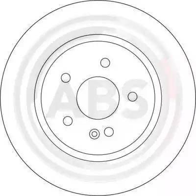 A.B.S. 17109 - Bremžu diski interparts.lv