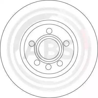 A.B.S. 17114 - Bremžu diski interparts.lv