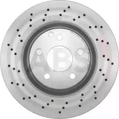 A.B.S. 17110 - Bremžu diski interparts.lv