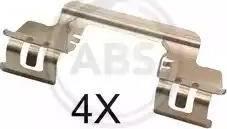 A.B.S. 1784Q - Piederumu komplekts, Disku bremžu uzlikas interparts.lv