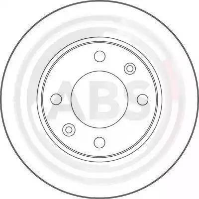 A.B.S. 17357 - Bremžu diski interparts.lv
