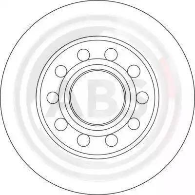 A.B.S. 17332 - Bremžu diski interparts.lv