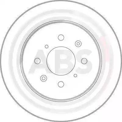 A.B.S. 17377 - Bremžu diski interparts.lv