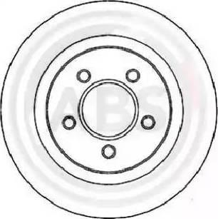 A.B.S. 17265 - Bremžu diski interparts.lv