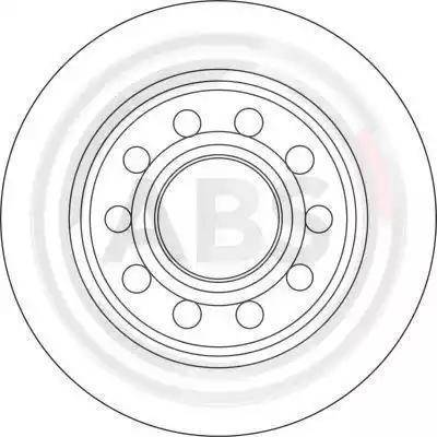 A.B.S. 17239 - Bremžu diski interparts.lv