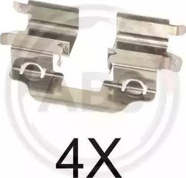 A.B.S. 1773Q - Piederumu komplekts, Disku bremžu uzlikas interparts.lv
