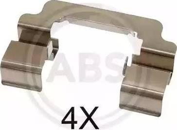 A.B.S. 1777Q - Piederumu komplekts, Disku bremžu uzlikas interparts.lv