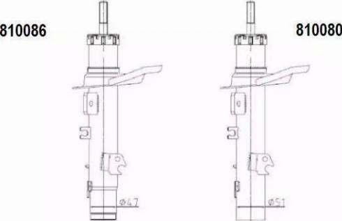 AL-KO 810086 - Amortizators interparts.lv