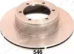 Ashika 60-05-546 - Bremžu diski interparts.lv