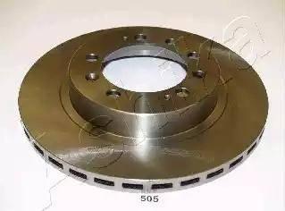 Ashika 61-05-505 - Bremžu diski interparts.lv