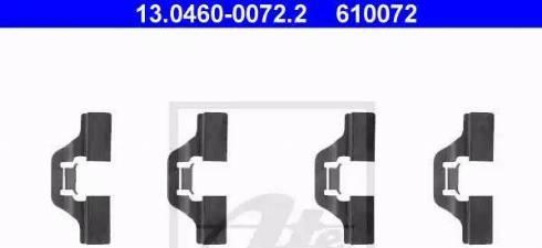 ATE 13.0460-0072.2 - Piederumu komplekts, Disku bremžu uzlikas interparts.lv