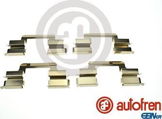AUTOFREN SEINSA D43016A - Piederumu komplekts, Disku bremžu uzlikas interparts.lv