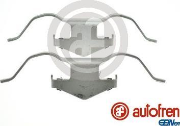 AUTOFREN SEINSA D43012A - Piederumu komplekts, Disku bremžu uzlikas interparts.lv