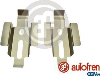 AUTOFREN SEINSA D43024A - Piederumu komplekts, Disku bremžu uzlikas interparts.lv