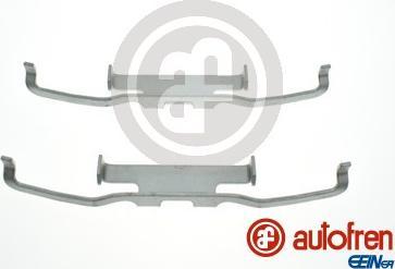 AUTOFREN SEINSA D42994A - Piederumu komplekts, Disku bremžu uzlikas interparts.lv