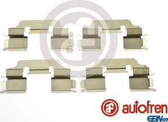 AUTOFREN SEINSA D42991A - Piederumu komplekts, Disku bremžu uzlikas interparts.lv