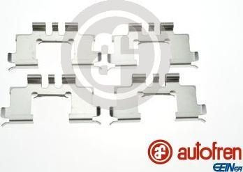 AUTOFREN SEINSA D42997A - Piederumu komplekts, Disku bremžu uzlikas interparts.lv