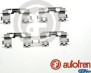 AUTOFREN SEINSA D42945A - Piederumu komplekts, Disku bremžu uzlikas interparts.lv