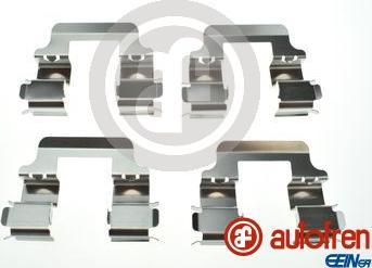 AUTOFREN SEINSA D42941A - Piederumu komplekts, Disku bremžu uzlikas interparts.lv