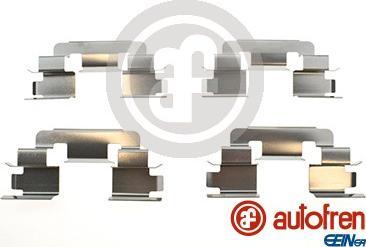 AUTOFREN SEINSA D42954A - Piederumu komplekts, Disku bremžu uzlikas interparts.lv