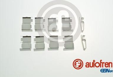 AUTOFREN SEINSA D42950A - Piederumu komplekts, Disku bremžu uzlikas interparts.lv