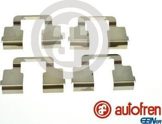 AUTOFREN SEINSA D42951A - Piederumu komplekts, Disku bremžu uzlikas interparts.lv
