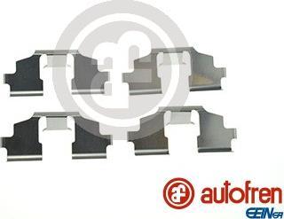 AUTOFREN SEINSA D42965A - Piederumu komplekts, Disku bremžu uzlikas interparts.lv